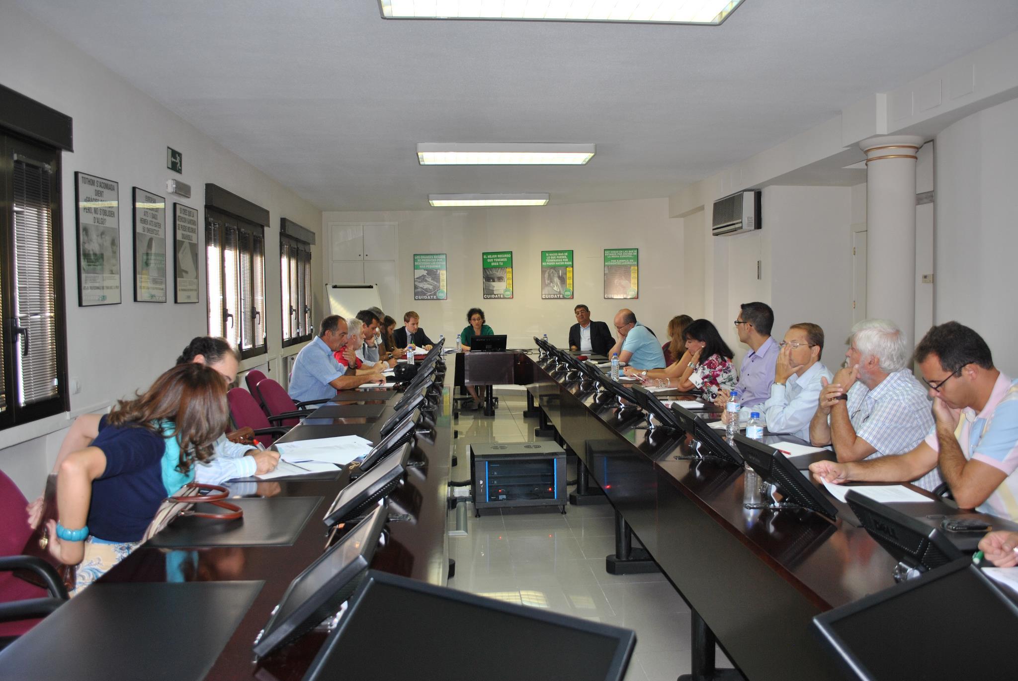 Reunión de los gabinetes jurídicos de la Plataforma Sindical (11 de septiembre de 2012)